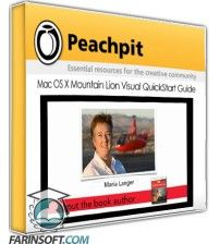 آموزش PeachPit Mac OS X Mountain Lion Visual QuickStart Guide