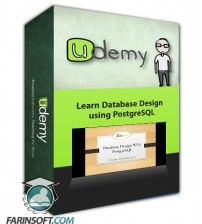 آموزش Udemy Learn Database Design using PostgreSQL