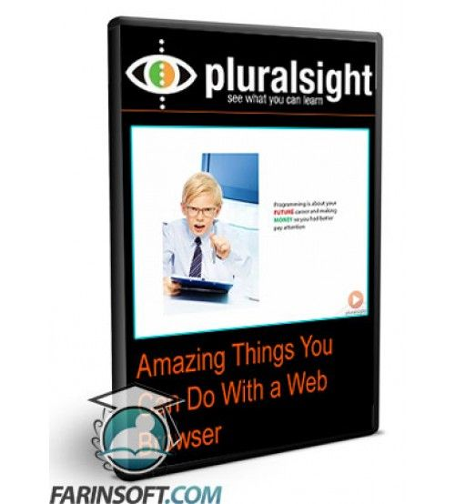 آموزش PluralSight Amazing Things You Can Do With a Web Browser