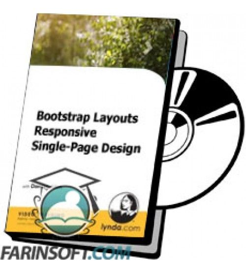آموزش Lynda Bootstrap Layouts - Responsive Single-Page Design