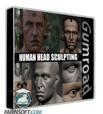 آموزش Gumroad Human Head Sculpting by Peter Zoppi