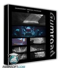 دانلود آموزش Gumroad Environment Design Package Vol 1