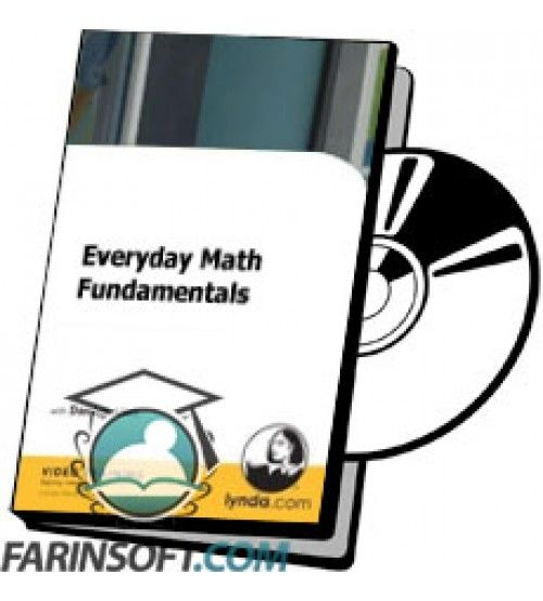 آموزش Lynda Everyday Math Fundamentals