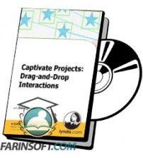 آموزش Lynda Captivate Projects: Drag-and-Drop Interactions