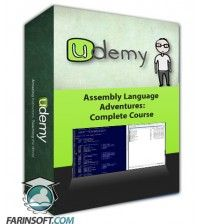 آموزش Udemy Assembly Language Adventures: Complete Course