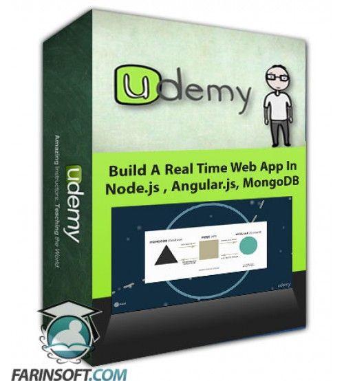 آموزش Udemy Build A Real Time Web App In Node.js , Angular.js, MongoDB