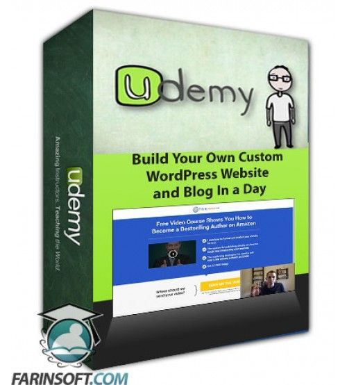 آموزش Udemy Build Your Own Custom WordPress Website and Blog In a Day