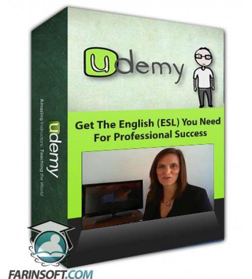 آموزش Udemy Get The English (ESL) You Need For Professional Success