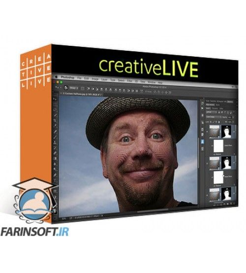 آموزش CreativeLive Filters and Creative Effects in Photoshop with Ben Willmore