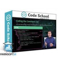 آموزش Code School Powering Up With React