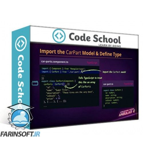 آموزش Code School Accelerating Through Angular 2