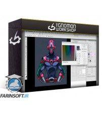 آموزش Gnomon Workshop Adobe Photoshop for Digital Production