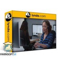 آموزش Lynda Customer Service over the Phone