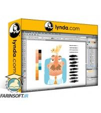 دانلود آموزش Lynda Drawing Vector Graphics: Painting with Vectors