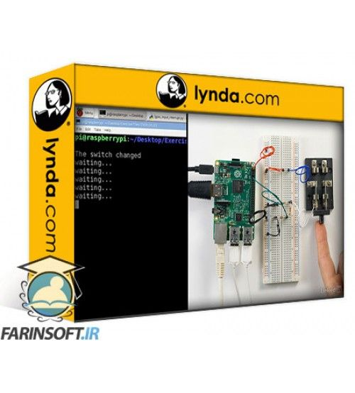 آموزش Lynda Raspberry Pi GPIO In Depth