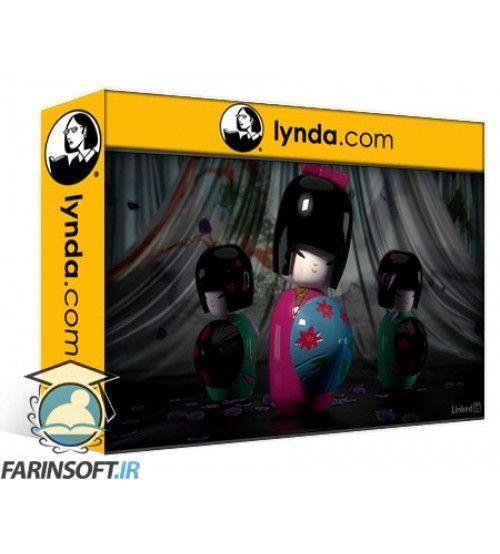 آموزش Lynda Using Vray RT in Production Rendering