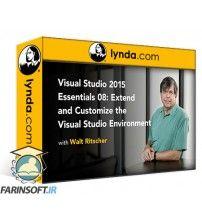 آموزش Lynda Visual Studio 2015 Essentials 08: Extend and Customize the Visual Studio Environment