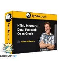 دانلود آموزش Lynda HTML Structured Data: Facebook Open Graph