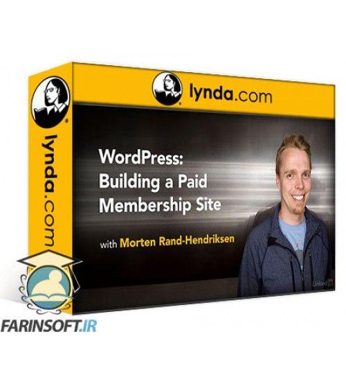 آموزش Lynda WordPress: Building a Paid Membership Site