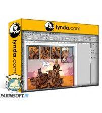 آموزش Lynda Designing Dynamic Layouts with Text and Dialog in Comics