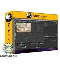 دانلود آموزش Lynda After Effects Apprentice 17: Video Walls in CINEMA 4D Lite