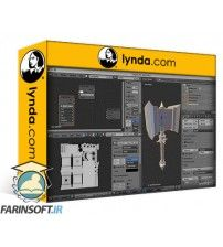 آموزش Lynda Blender: Game Asset Sculpting