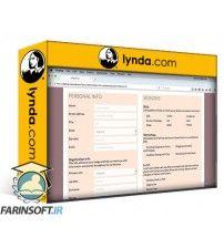 آموزش Lynda Building Responsive Forms with Flexbox