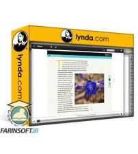 آموزش Lynda Creating Fixed-Layout EPUBs with InDesign CC