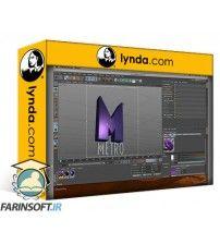 آموزش Lynda Creating Flying Logos with After Effects and CINEMA 4D Lite