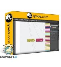 دانلود آموزش Lynda Designing a Data Visualization