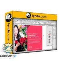 آموزش Lynda Designing Templates with InDesign