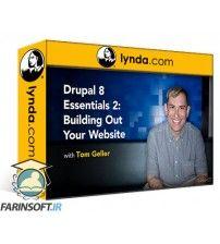 آموزش Lynda Drupal 8 Essentials 2: Building Out Your Website