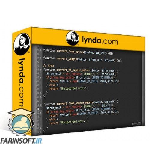 آموزش Lynda Easy PHP Projects: Measurement Conversion