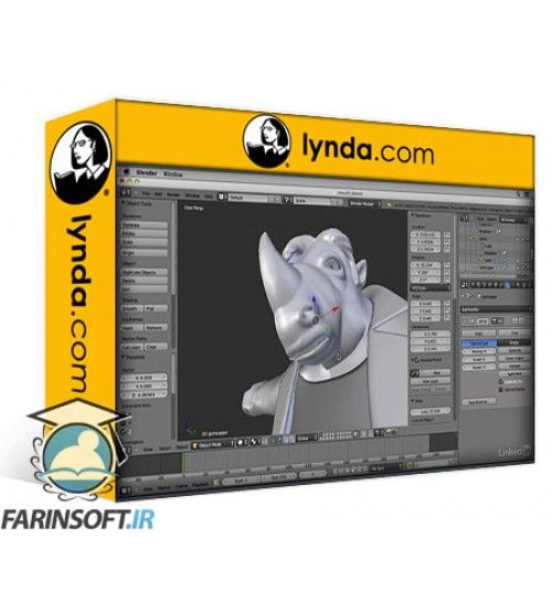آموزش Lynda Character Modeling in Blender