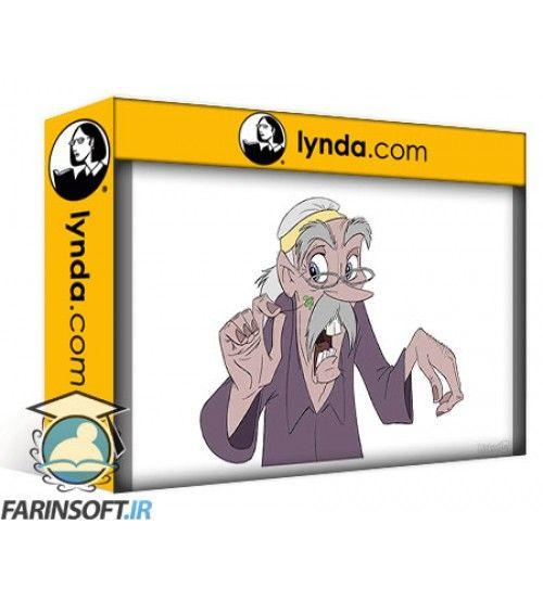 آموزش Lynda Foundations of Drawing Cartoon Characters for Animation