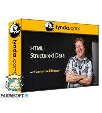 آموزش Lynda HTML: Structured Data