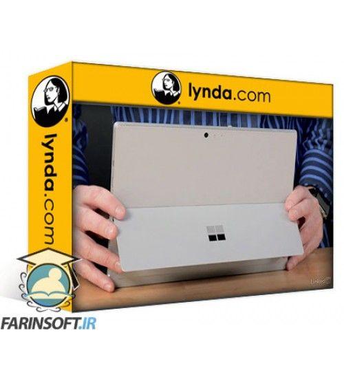 آموزش Lynda Learn Microsoft Surface: The Basics