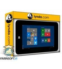 دانلود آموزش Lynda Up and Running with Office Mobile for Windows 10