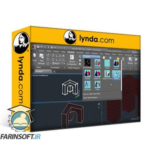 آموزش Lynda Rendering with AutoCAD