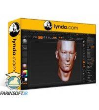 آموزش Lynda Sculpting Portraits in ZBrush