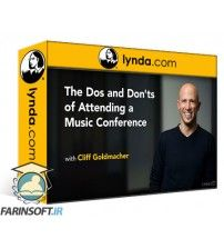 دانلود آموزش Lynda The Dos and Donts of Attending a Music Conference