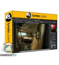 آموزش Lynda Using Panoramic Photos for Motion Graphics and Visual Effects