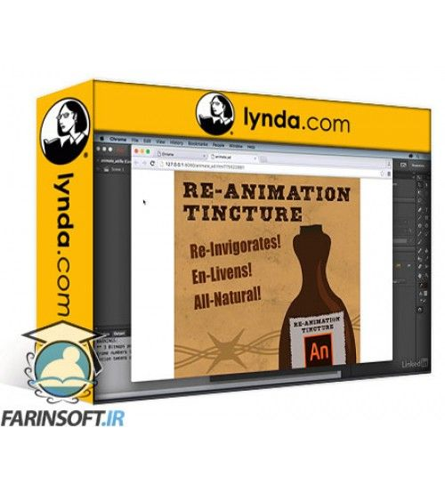 آموزش Lynda Adobe Animate CC: New Features