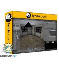 آموزش Lynda Blender: Interior Environments for Games