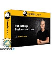 دانلود آموزش Lynda Podcasting: Business and Law