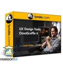 دانلود آموزش Lynda UX Design Tools: OmniGraffle 6