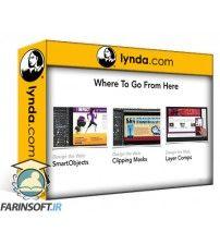 دانلود آموزش Lynda Design the Web Control Colors in Photoshop with SmartObjects