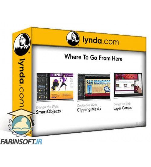 آموزش Lynda Design the Web Control Colors in Photoshop with SmartObjects