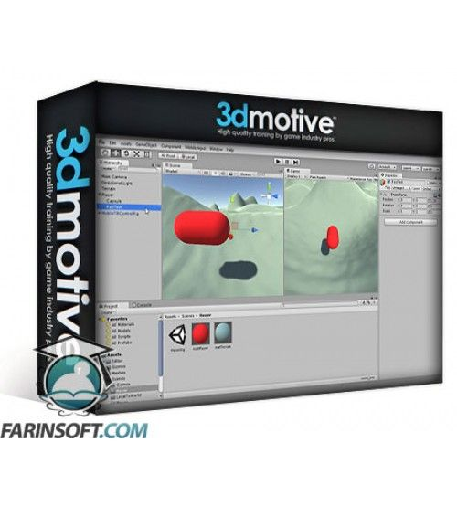 آموزش 3D Motive Advanced C# For Unity Volume 1-5