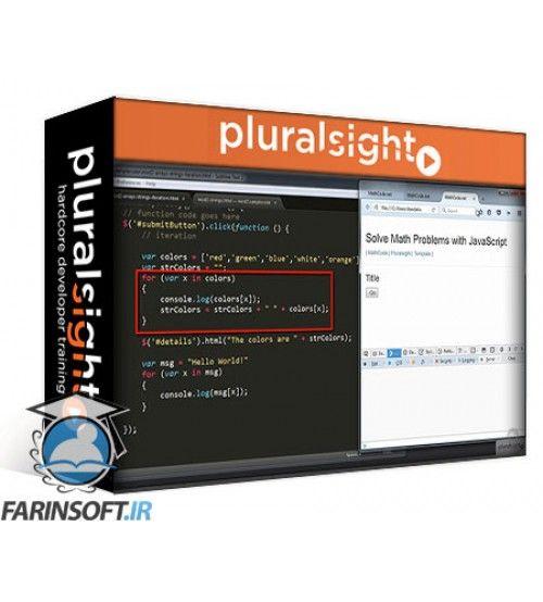 آموزش PluralSight Solve Math Problems with JavaScript